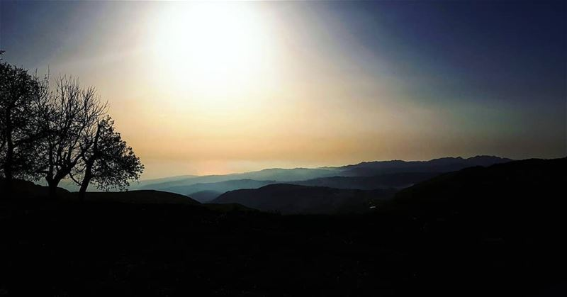 "Write a  caption 💭""Be patient where u sit in the  dark... the  dawn is... (Baskinta, Lebanon)"
