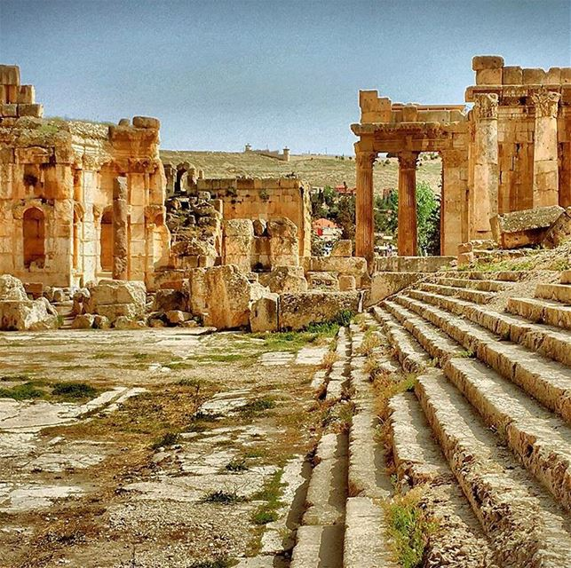 Baalbeck Temples one of the most scared, mysterious and largest stone... (Baalbek , Roman Temple , Lebanon)