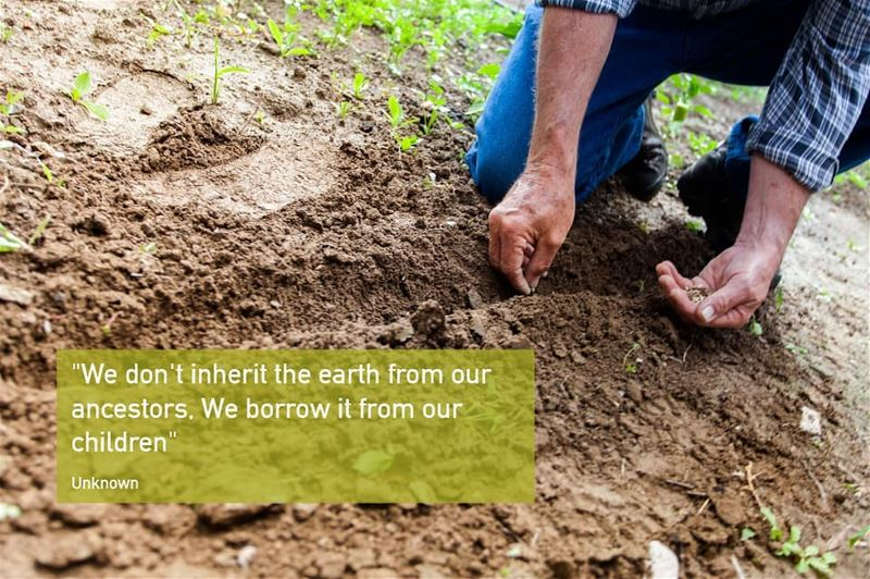 Celebrating  InternationalEarthDay by giving back to our beautiful planet �