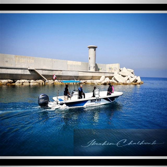 Dive your life -  ichalhoub was in  Batroun north  Lebanon shooting with a...