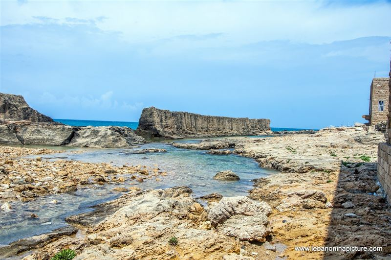 The Phonecian Wall Batroun (Phonecian Wall, Batroun, Norh Lebanon)