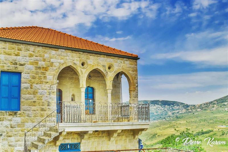 amazing  escape old Lebanese  house hdr traditional... hiking ...