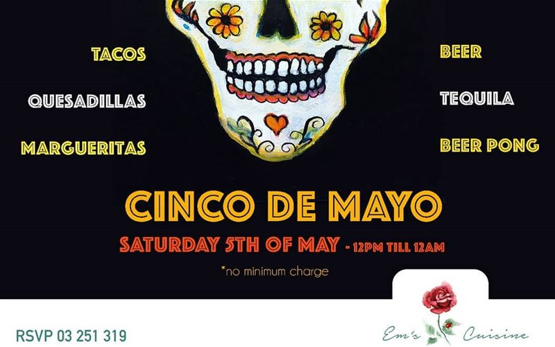 We're going Mexican this Saturday! No mininum charge, no entrance fee! Let' (Em's cuisine)