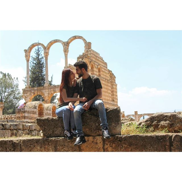 Every time i look into your eyes i smile and know you are mine!... (Aanjar, Béqaa, Lebanon)