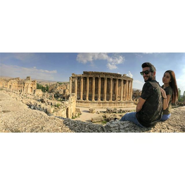 Have you ever been to this beautiful place?Baalbek's Temple of Bacchus is... (Baalbek, Lebanon)