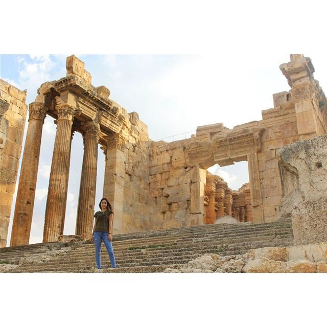 And the rest is history! livelovelebanon  livelovebeirut  livelovebekaa ... (Baalbeck, Béqaa, Lebanon)