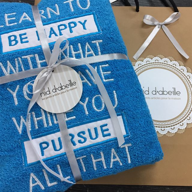 Write it on dabric by nid d'abeille. Quote ☁️  beach  soon  towel ...