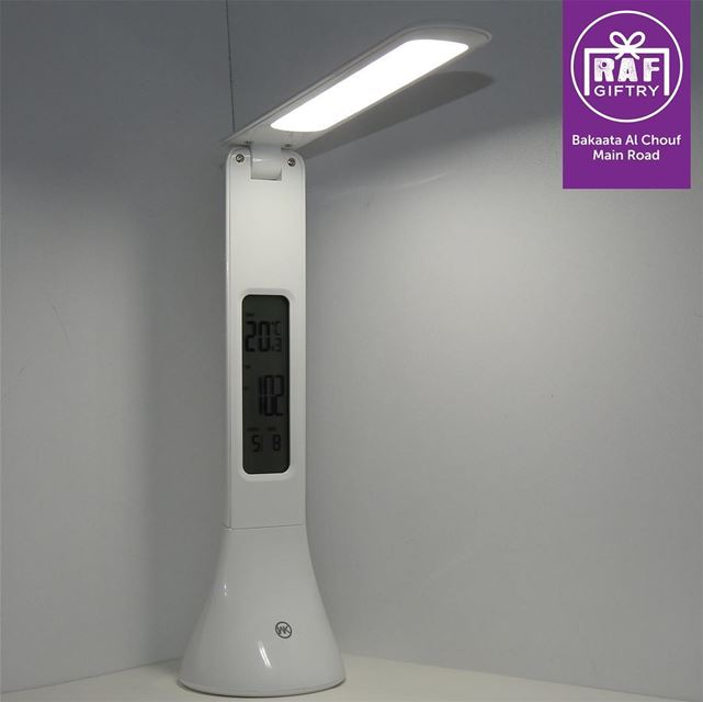 Touch LED Lamp + Digital Alarm Clock ⏰ raf_giftry........ led ... (Raf Giftry)