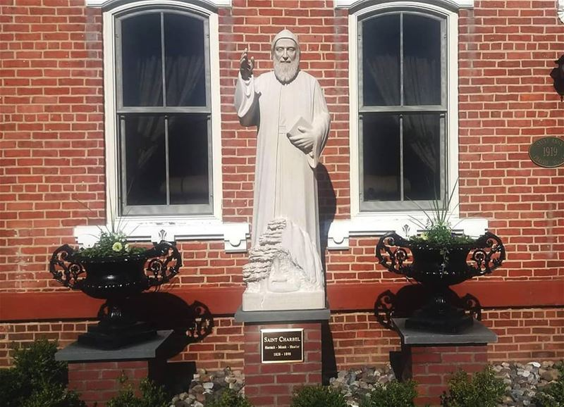 Saint Charbel - Watervliet, NY (USA)____ nayef_alwan  sculptor  art ... (Watervliet, New York)