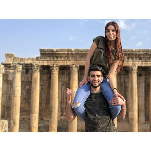 Together is better! livelovelebanon  livelovebeirut  livelovebekaa ... (Baalbeck, Béqaa, Lebanon)