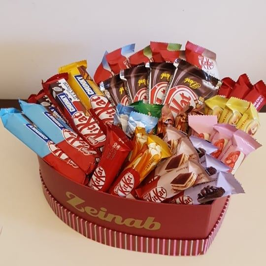 Know any  kitkat  lover ? gift them this  snackbox : 71159985...