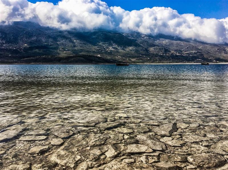 Watch nature see yourself  lake  qaraoun  bekaa  bekaavalley  lebanon ... (Lake Qaraoun)
