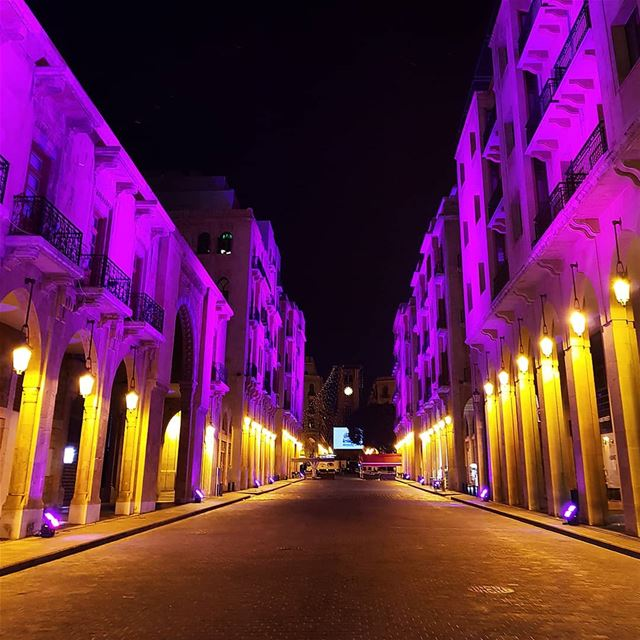 🇱🇧🇱🇧❤❤ nightout  colorful  lighting  oldarchitecture  oldbuilding ... (Beirut, Lebanon)