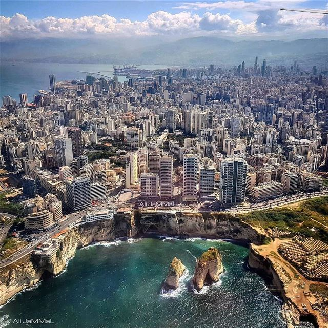 Our lovely capital...By @ali_jammal  Beyrouth  Beirut  Liban  Libano ... (Beirut, Lebanon)