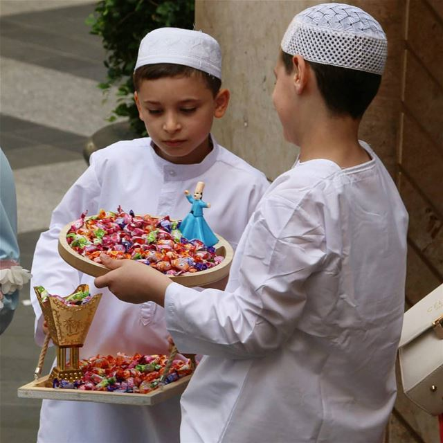 Happy Ramadan all... Candies, sweets and much more will follow after a... (Beirut Souks)