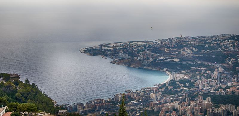 Jounieh Bay From Ghosta