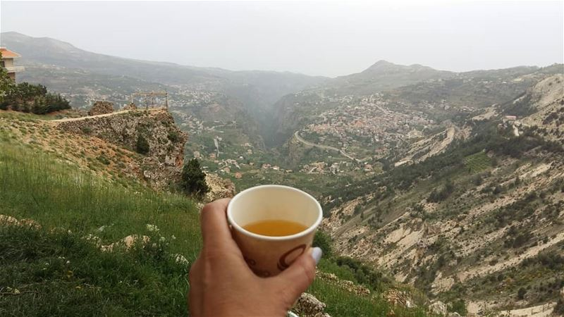 My day: from mountains to the sea...  amazingviewsofnorthlebanon ...
