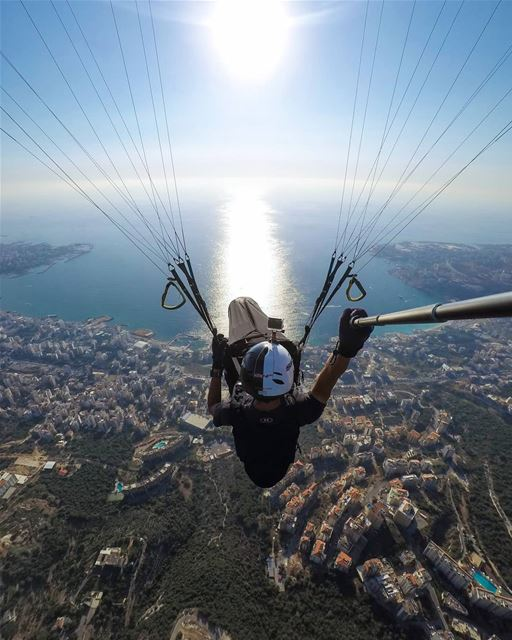 I've got to stay high all the time.🌎🦅 liveloveparagliding  mikesport ...
