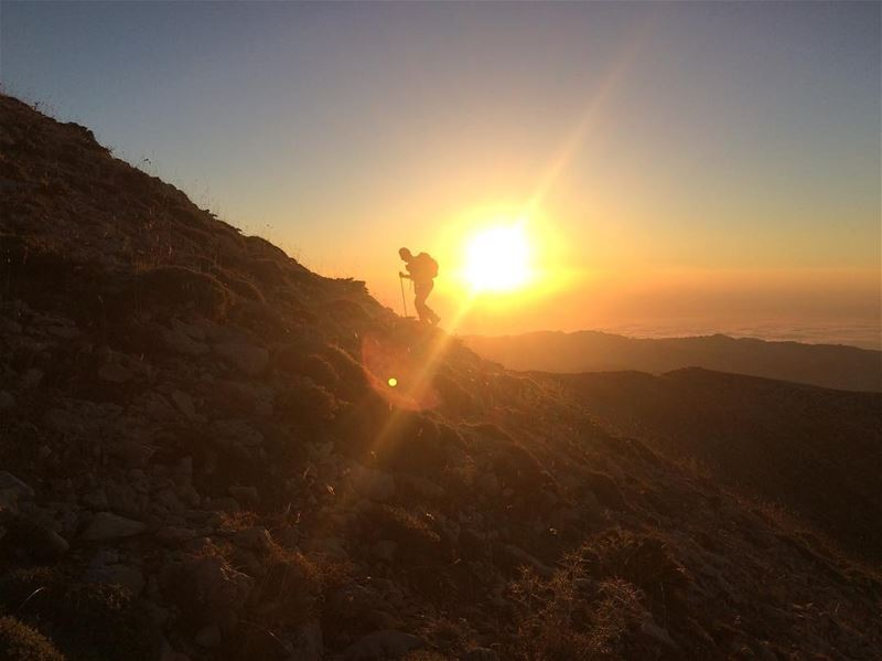 Sunset hikes are back 🎉🎊‼️................. lebanon ... (Lebanon)