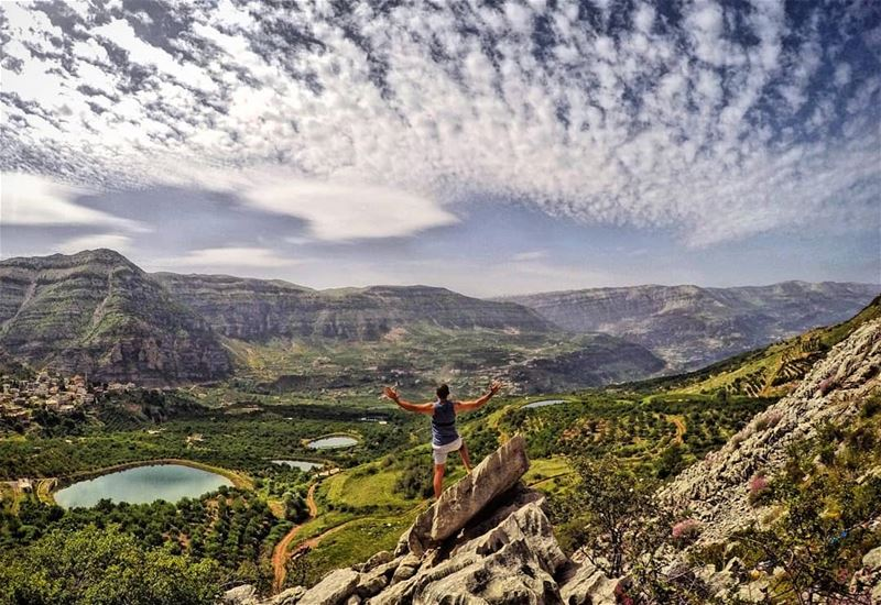 When Everything Feels Like An Uphill Struggle, Just Think Of The View From... (Akoura, Mont-Liban, Lebanon)