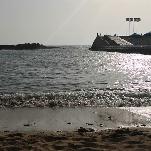 Beach is empty -  ichalhoub in  Batroun north  Lebanon shooting with a...