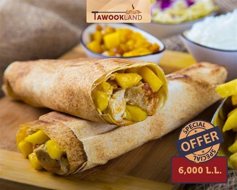 @tawookland -  Offer of the Week‼️  ExoticTawook (fresh chicken, garlic,... (Tawookland)
