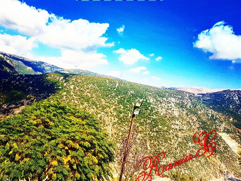 amazingview  wonderfulplace ... (Hemlâya, Mont-Liban, Lebanon)