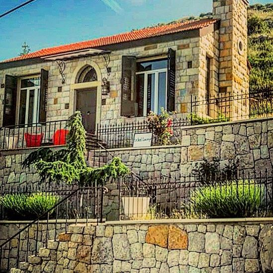 """ Love grows best in little houses, with fewer walls to separate. Where... (Falougha, Mont-Liban, Lebanon)"