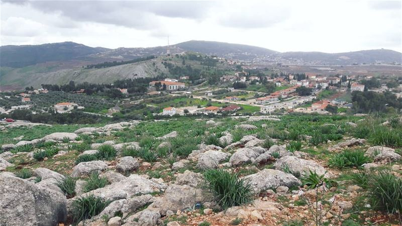 Beautiful view from the borders between Lebanon and occuppied Palestine.. ... (Marjayoûn, Al Janub, Lebanon)