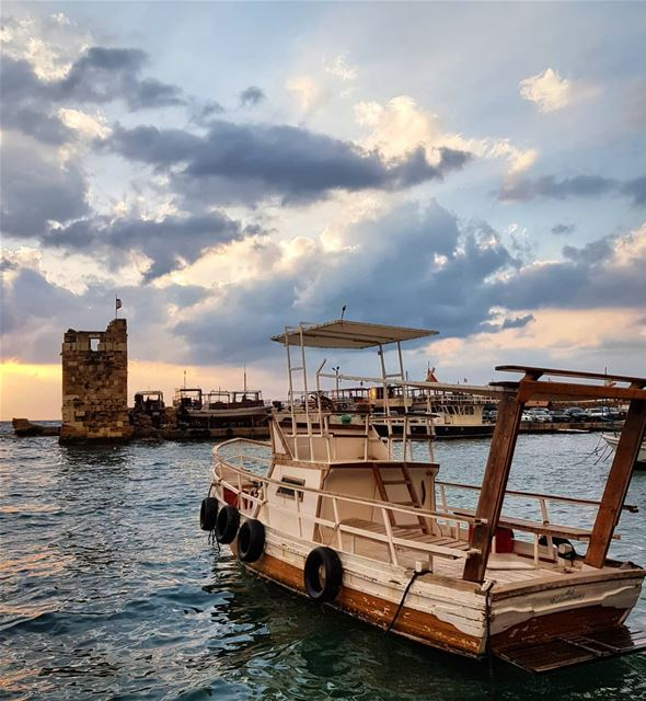 Missing home and my favourite spot ⚓ (Byblos, Lebanon)