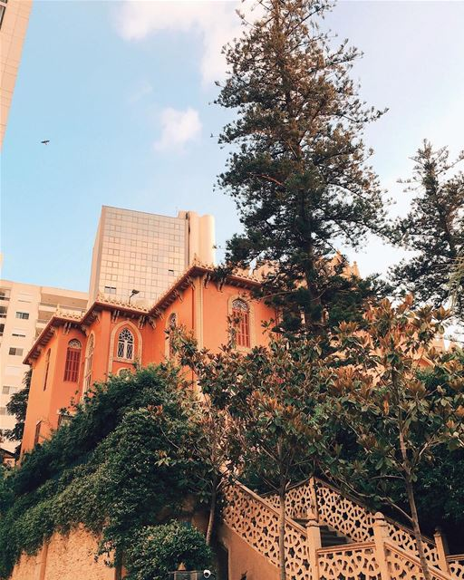 Little pieces of architectural heaven in the big city🏙....... (Beirut, Lebanon)