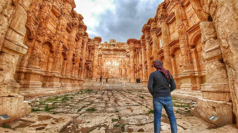 MAJESTY of BAALBEK 💛........... lebanoninstagram ... (Baalbek, Lebanon)