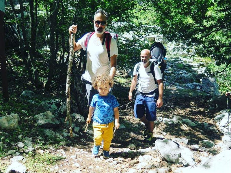 He leads... They follow :)  JabalMoussa @polyliban  unescomab  unesco ...