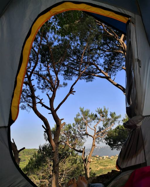 Good morning  lebanon  lebanonoutdoor  mountain  nature  camping ...