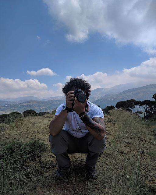 We take a photos as a return ticket to a moment otherwise gone 📸 ... (Marj Biskinta, Mont-Liban, Lebanon)