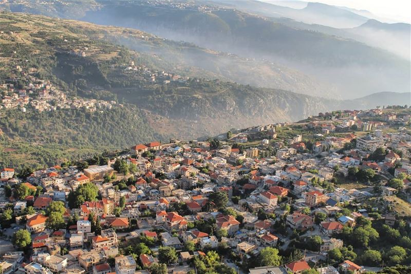 @liveloveehden Typically heaven on earth !🏡P.S : Not a drone... (Ehden, Lebanon)