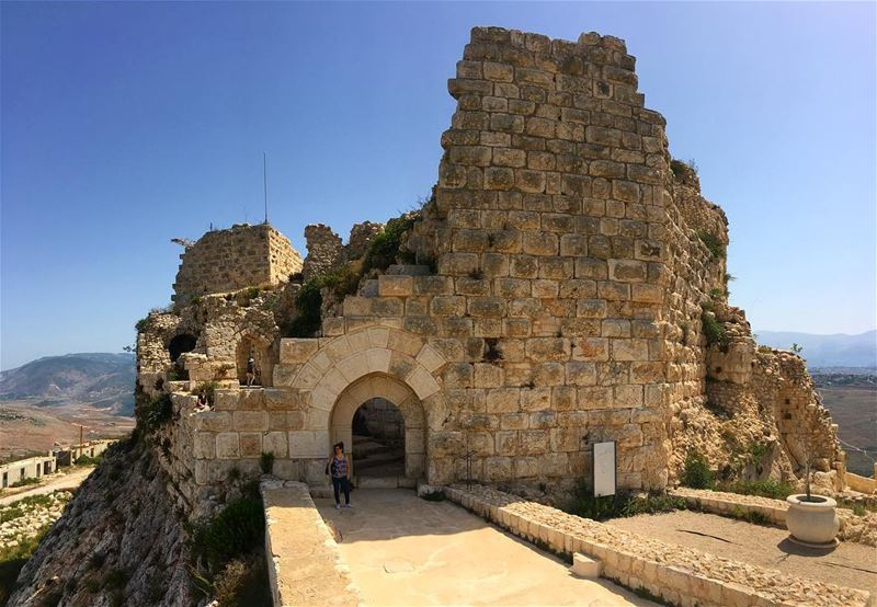 الجنوب......  lebanonspotlights  thisismycommunity  nationalart ... (Beaufort Castle, Lebanon)