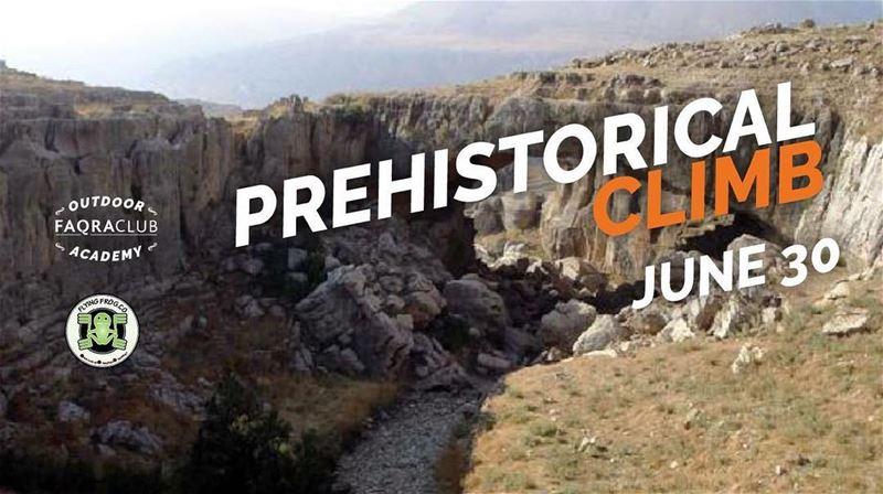 Join us on June 30 for an awesome  prehistorical event, rock climbing and... (Natural Bridge Kfardebian)