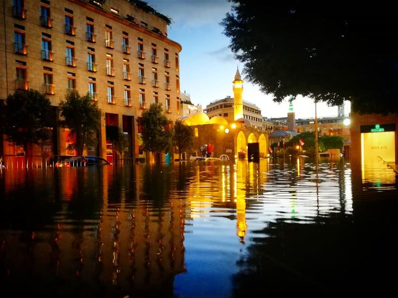 Be a  reflection of what you'd like to  receive..  goodmorning ... (Downtown Beirut)