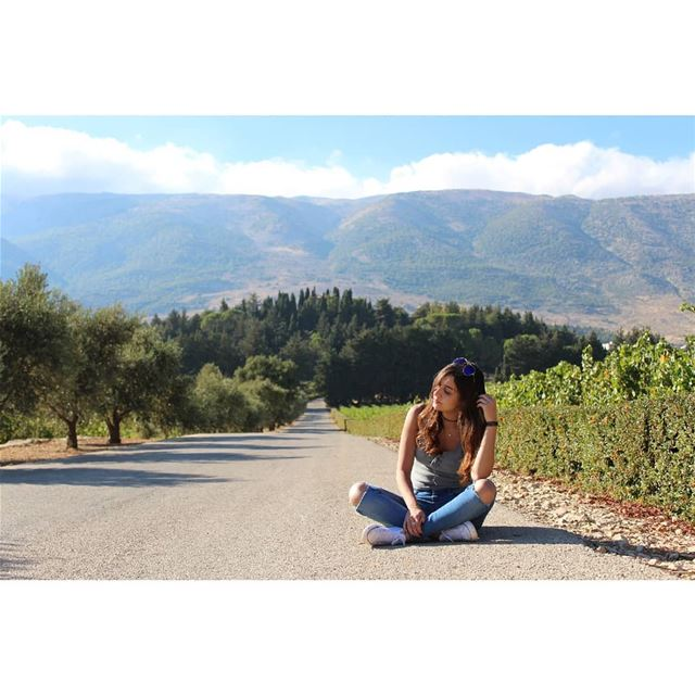Think outside, no box is required! livelovelebanon  livelovebekaa ... (Bekaa Valley)
