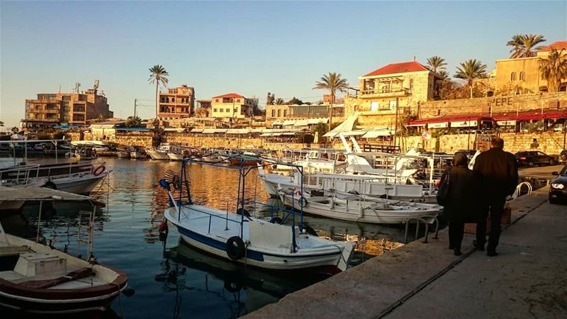 The beautiful Byblos 💙 takenbyme  throwback  ptk_Lebanon  visitlebanon ... (Byblos - Jbeil)