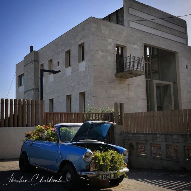 What a car!  ichalhoub in al- koura north  Lebanon shooting with a mobile...