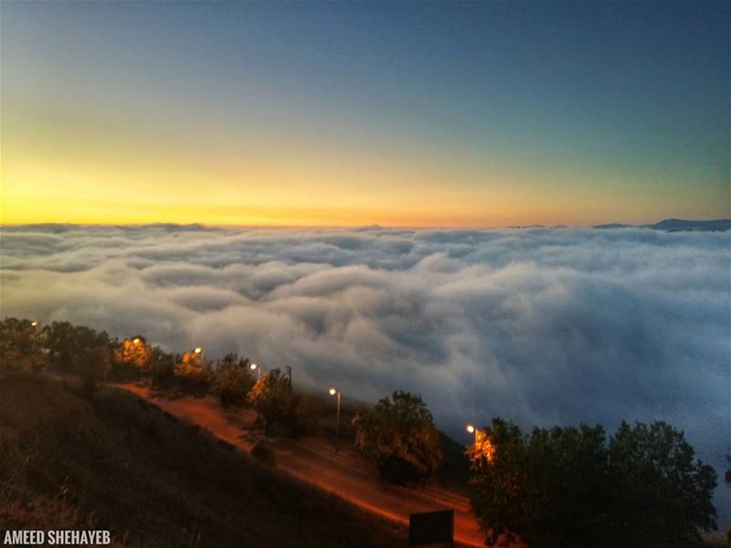 """There are no rules of architecture for a castle in the clouds.""- Gilbert... (Dahr El Baïdar, Mont-Liban, Lebanon)"