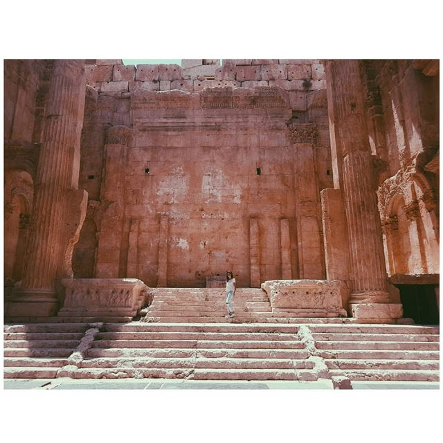 Mesmerized by the beauty of this place. Baalbek  ig_captures ... (Baalbek, Lebanon)