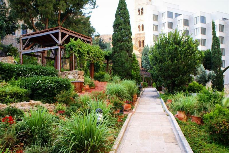 The Roman Baths' Garden, designed by Machado & Silvetti Architects:The... (Downtown Beirut)