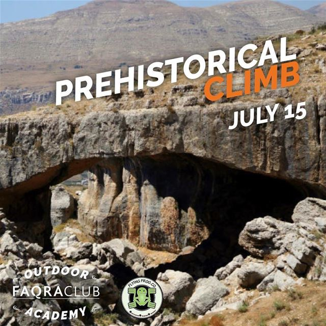 Feel the excitement of climbing… on a natural bridge formed through... (Natural Bridge Kfardebian)