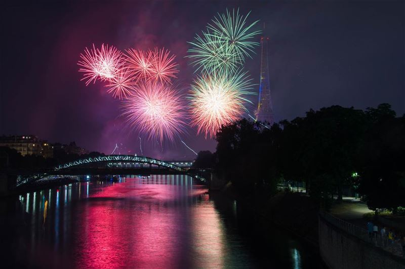 Lights on paris!... 14 of July marks the french national day. A day where...