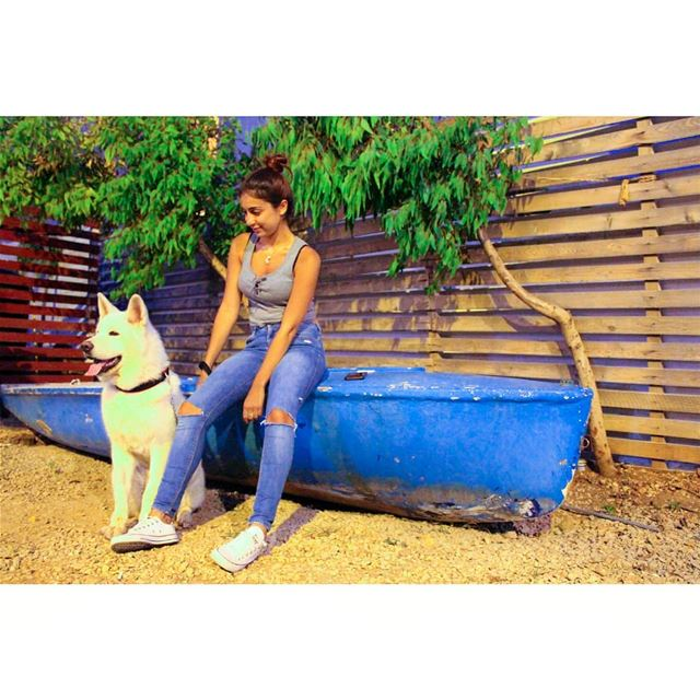 Lobo 🐶 livelovelebanon  livelovepets  livelovebatroun  lebanonadventure ... (Colonel Beer Brewery)