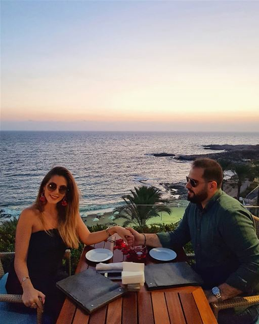 """ ... can't take my eyes off of you ...""💎.... couple  love ... (Mövenpick Hotel & Resort Beirut)"