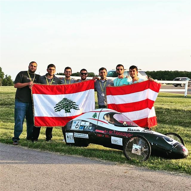 AUB @aub_msfea students impress at SAE SuperMileage competition!...